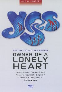 Cover Yes - Owner Of A Lonely Heart - Live In Concert [DVD]